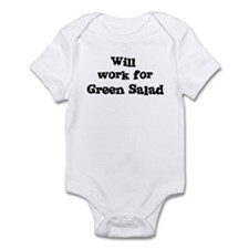 Will work for Green Salad Infant Bodysuit