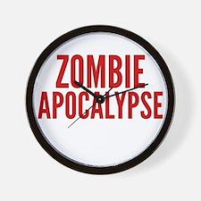 ZombieApHard1E Wall Clock