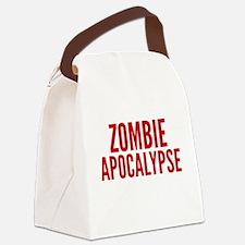 ZombieApHard1E Canvas Lunch Bag