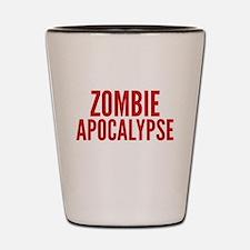 ZombieApHard1E Shot Glass