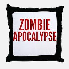 ZombieApHard1E Throw Pillow
