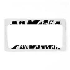 BOD Shatter License Plate Holder