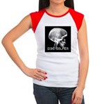 Women's Cap Sleeve T-Shirt Disc Golf X ray