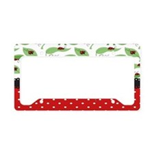 Ladybug Connection License Plate Holder