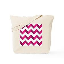 Chevron Pink Zig Zag Tote Bag