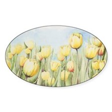 Nathalies Tulips Decal