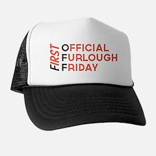 First Official Furlough Friday Logo Trucker Hat