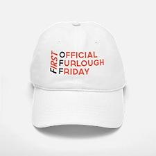 First Official Furlough Friday Logo Baseball Baseball Cap