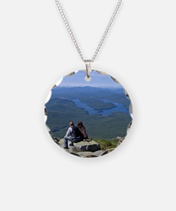 View of Lake Placid Necklace