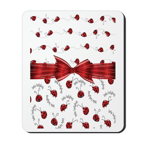 Perfect Little Ladybugs Mousepad