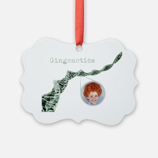 Gingenetics Ornament