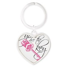 You Are the Key Heart Keychain