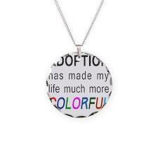 colorful big Necklace