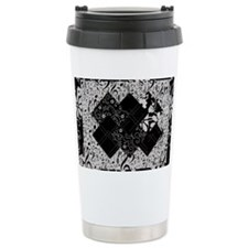 Larissa - Black and Whi Travel Mug