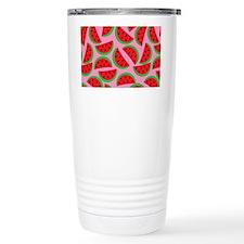 Cute Watermelon on Summ Travel Mug