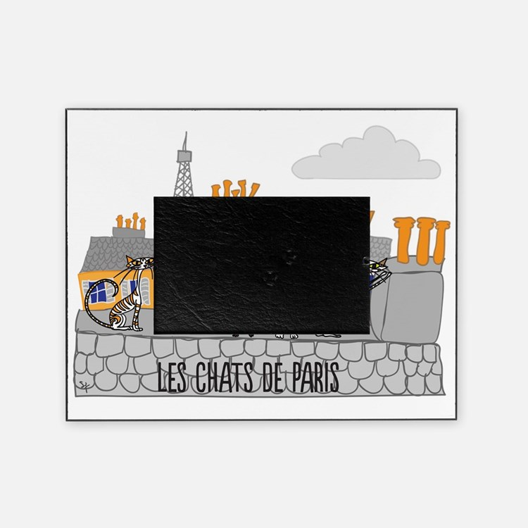 The Cats of Paris - Les Chats de Par Picture Frame