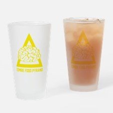 ZombieFoodPyramid1E Drinking Glass