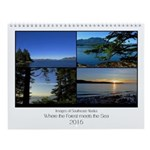 Where The Forest Meets Sea 8x11 Wall Calendar