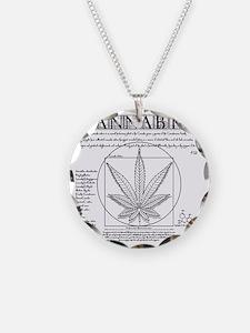 Vitruvian Grass Necklace