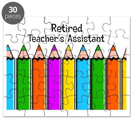 teachers assistant retired Puzzle