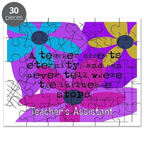 Teachers assistant 4 Puzzle