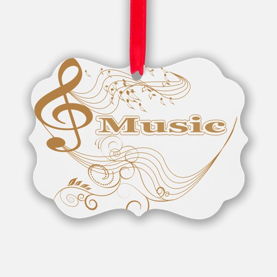 Music background Ornament