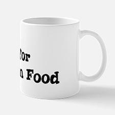 Will work for Hungarian Food Mug