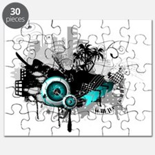 modern music background Puzzle
