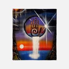 Universal Healing Energy Throw Blanket