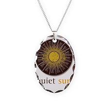Quiet Sun Logo (Largest) Necklace