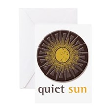 Quiet Sun Logo (Largest) Greeting Card