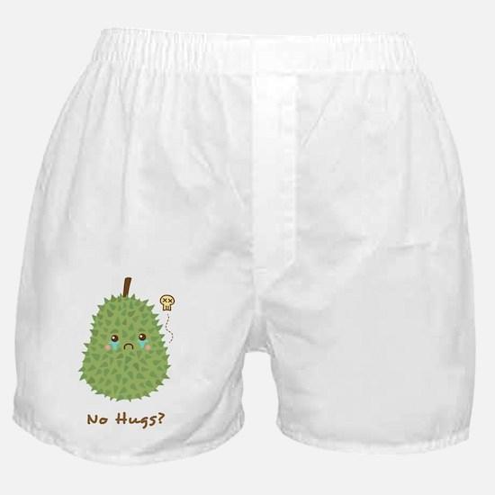 Sad Durian that gets no hugs Boxer Shorts