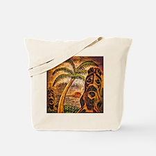 Tiki Island 9-12 Tote Bag