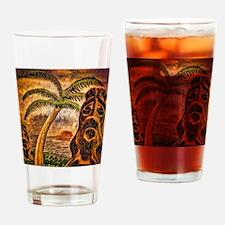 Tiki Island 9-12 Drinking Glass