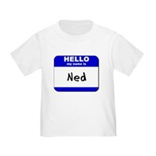 hello my name is ned T