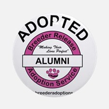 Breeder Release Adoption Service Al Round Ornament