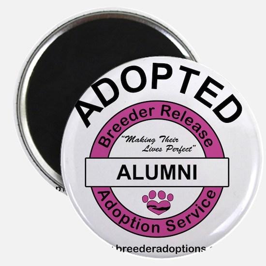Breeder Release Adoption Service Alumni dog Magnet