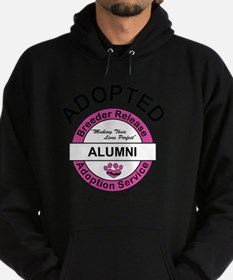 Breeder Release Adoption Service Alu Hoodie (dark)