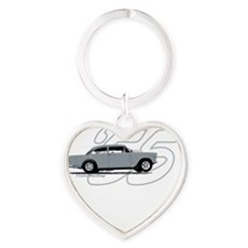 Cult Movie Chevy T Shirt Heart Keychain