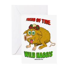 Friend of The Wild Haggis Greeting Card
