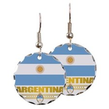 Flag of Argentina Earring