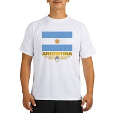 Flag of Argentina Performance Dry T-Shirt