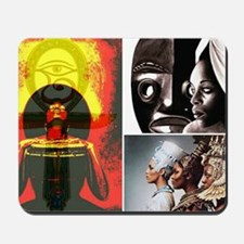 African Goddess Mousepad
