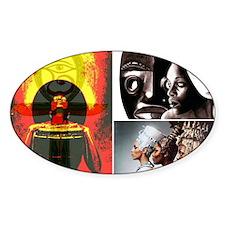 African Goddess Decal