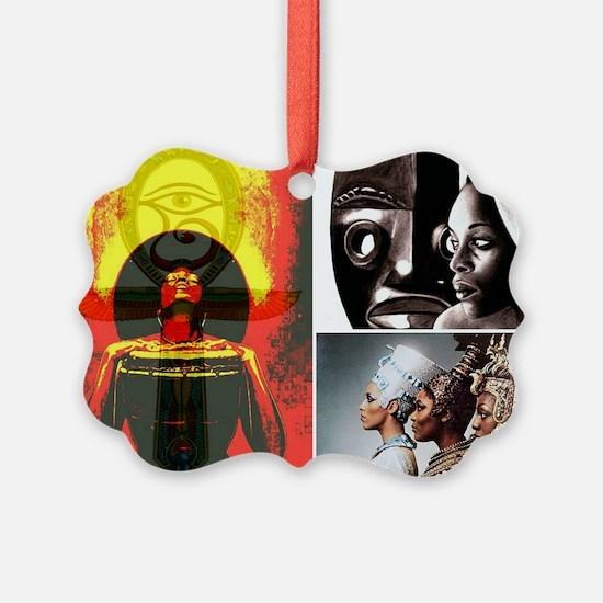 African Goddess Ornament