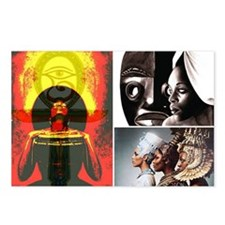 African Goddess Postcards (Package of 8)