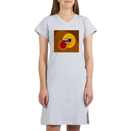 mortician abstract Women's Nightshirt