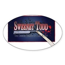 Sweeney Todd Cast Tshirts Decal