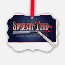 Sweeney Todd Cast Tshirts Ornament