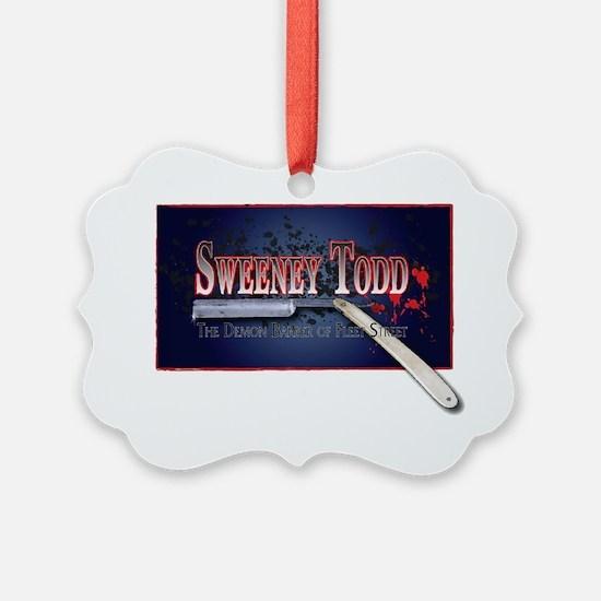 Sweeney Todd Cast Tshirts Ornament